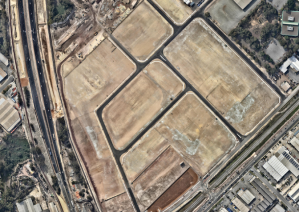 Completed Site Tonkin Highway Civil Works Package Stage 1 – Nearmap photo April 2018